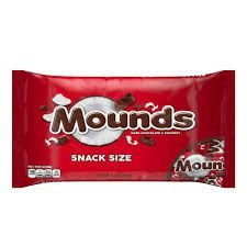 Mounds Candy Bars Snack Size
