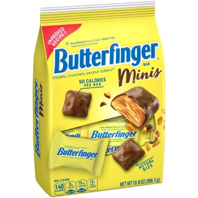 Butterfinger Minis Chocolate Candy Bars
