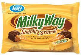 Milky Way Fun Size Simply Caramel Milk Chocolate Candy
