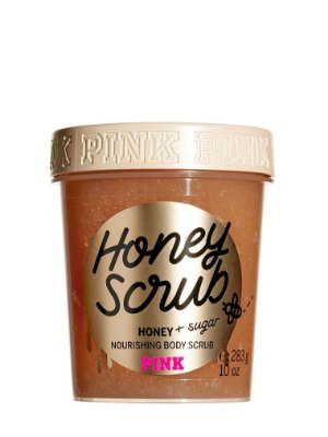 PINK Honey Scrub with Sugar Nourishing Body Scrub