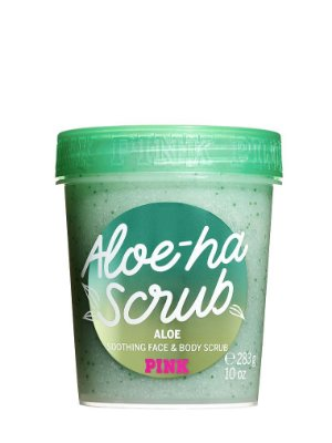 PINK Aloe-Ha Scrub Soothing Face and Body Scrub