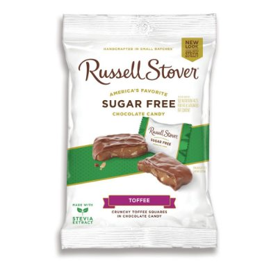 Russel Stover Sugar Free Toffee Squares