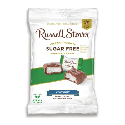 Russel Stover Sugar Free Coconut Squares