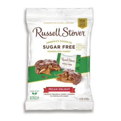 Russel Stover Sugar Free Pecan Delight Squares