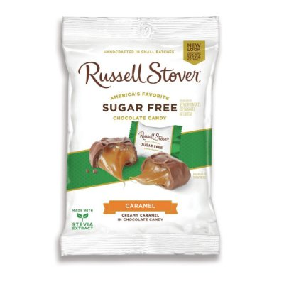 Russel Stover Sugar Free Caramel Squares