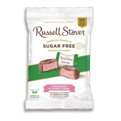 Russel Stover Sugar Free Strawberry Cream Squares