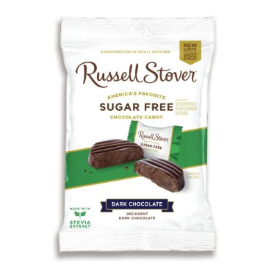 Russel Stover Sugar Free Dark Chocolate Medallions