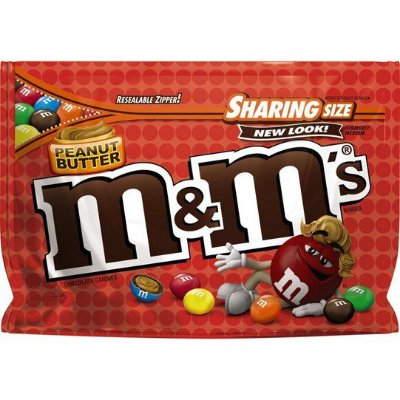 M&Ms Sharing Size Peanut Butter