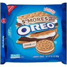 Nabisco Oreo S'mores Sandwich Cookie