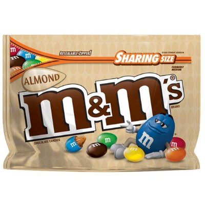 M&Ms Sharing Size Almond