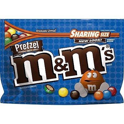 M&Ms Sharing Size Pretzel