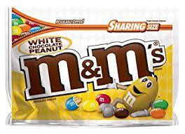 M&Ms Sharing Size White Chocolate Peanut