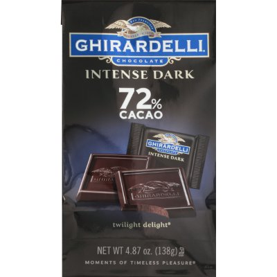 Ghirardelli Intense Dark Twilight Delight 72% Cacao Chocolate