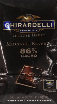 Ghirardelli Intense Dark Midnight Reverie 86% Cacao Chocolates