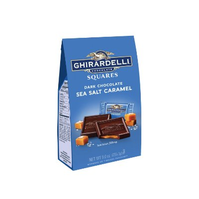 Ghirardelli Dark Chocolate Sea Salt Caramel