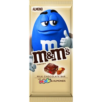M&M's Almond & Minis Milk Chocolate Candy Bar