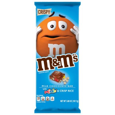 M&M's Crispy & Minis Milk Chocolate Candy Bar