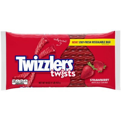 Twizzlers Strawberry Twists Chewy Candy
