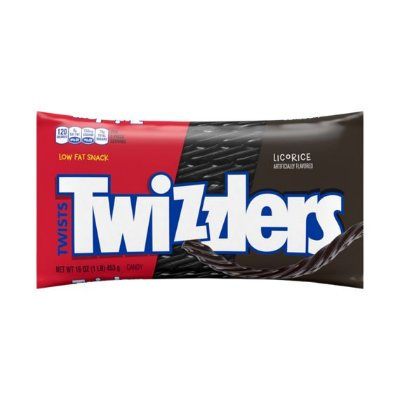 Twizzlers Black Twists Chewy Candy
