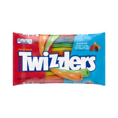 Twizzlers Rainbow Twists Straws