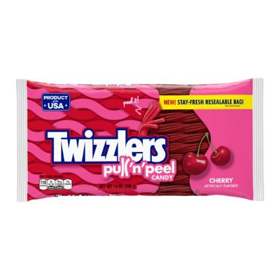 Twizzlers Pull 'N' Peel Cherry Candy