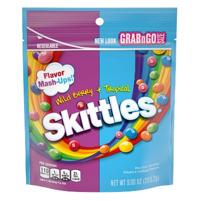 Skittles Mash-Ups Wild Berry and Tropical Candy