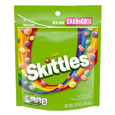 Skittles Sours Grab N Go