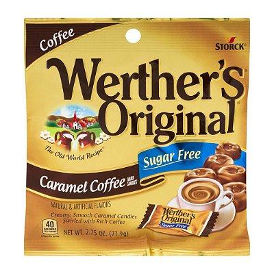 Storck Werther's Original Sugar-Free Caramel Coffee Hard Candies