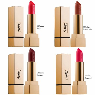 Yves Saint Laurent Rouge Pur Couture Lipstick Collection