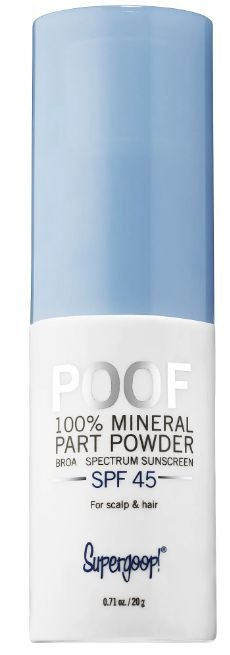 Supergoop! Poof 100% Mineral Part and Scalp Powder SPF 45