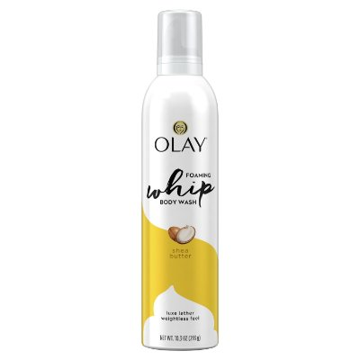 Olay Shea Butter Scent Foaming Whip Body Wash
