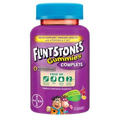 Flintstones Gummies Complete Children's Multivitamins