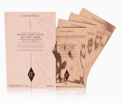Charlotte Tilbury Revolutionary Instant Magic Facial Dry Sheet Mask Multipack