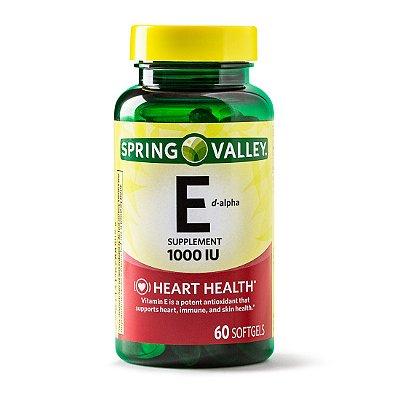 Spring Valley Vitamin E D-Alpha, 1000 IU/670mg