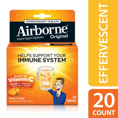Airborne Vitamin C Effeverscent Tablets