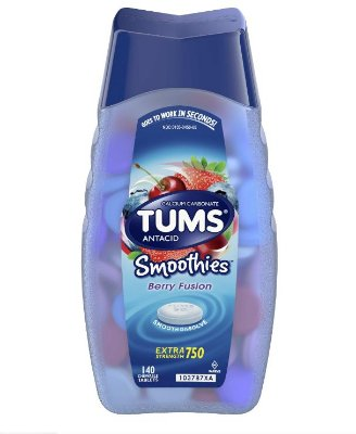 Tums Antacid Smoothies Berry Fusion