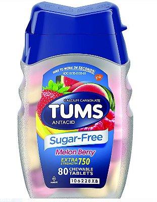 Tums Antacid Sugar Free Melon Berry