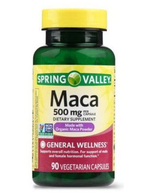 Spring Valley Maca Capsules, 500 mg