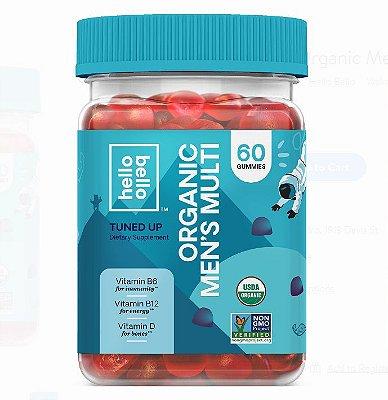 Hello Bello Organic Men's Multi Vitamin Gummy