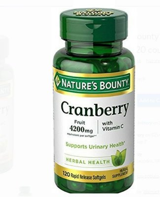 Nature's Bounty Cranberry Herbal Health
