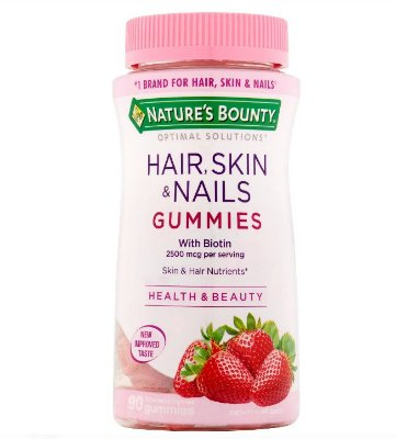 Nature's Bounty Hair Skin & Nails Gummies