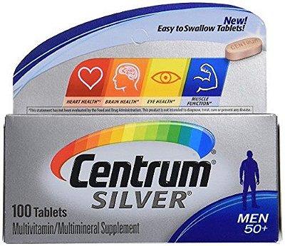 Centrum Silver Men 50+  Multivitamin / Multimineral Supplement Tablets