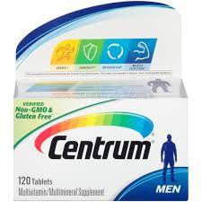 Centrum Men Multivitamin Tablets