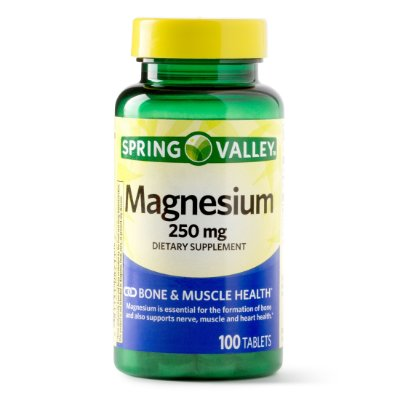 Spring Valley Magnesium 250mg