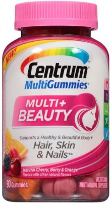 Centrum MultiGummies Multi + Beauty Gummy Multivitamin