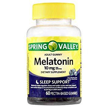 Spring Valley Melatonin Adult Gummies 10 mg