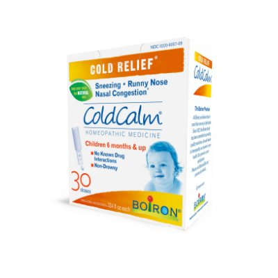 Boiron ColdCalm Baby Cold Relief Liquid Unit-Does