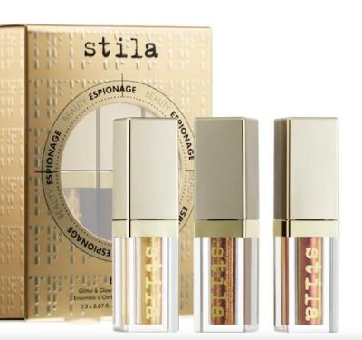 Stila Eye Spy Glitter & Glow Liquid Eye Shadow Set Edição Limitada
