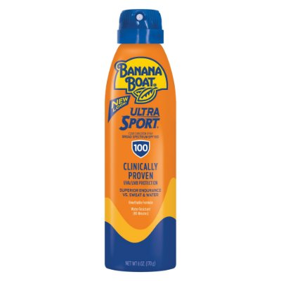 Banana Boat Ultra Sport Clear Sunscreen Spray SPF 100