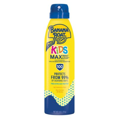 Banana Boat Kids Max Protect & Play Sunscreen C-Spray SPF 100